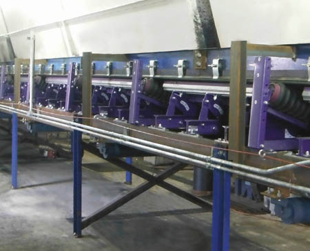 Impact and Idlers On Conveyor
